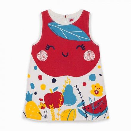 Dievčenské letné šaty na ramienka