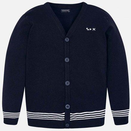 Chlapčenský sveter na gombíky