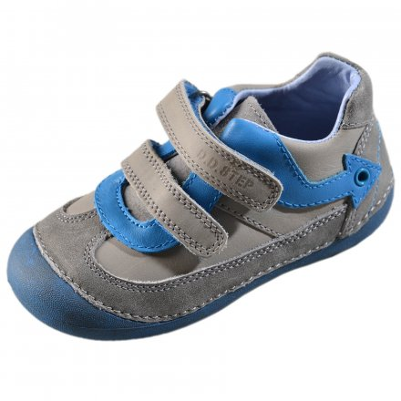 Chlapčenské prechodné kožené topánky-Grey