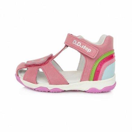 Dievčenské kožené sandále-Red