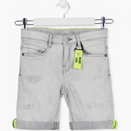 Chlapčenské šortky z mäkkej rifloviny