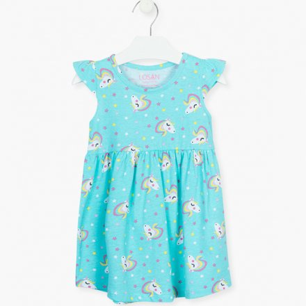 Dievčenské úpletové šaty