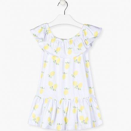 Dievčenské bavlnené letné šaty