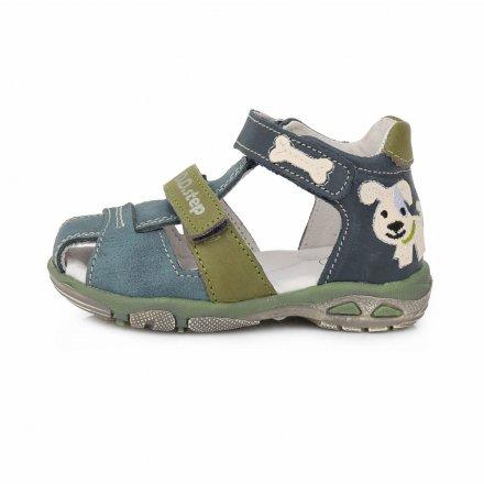 Chlapčenské kožené sandále-Royal Blue