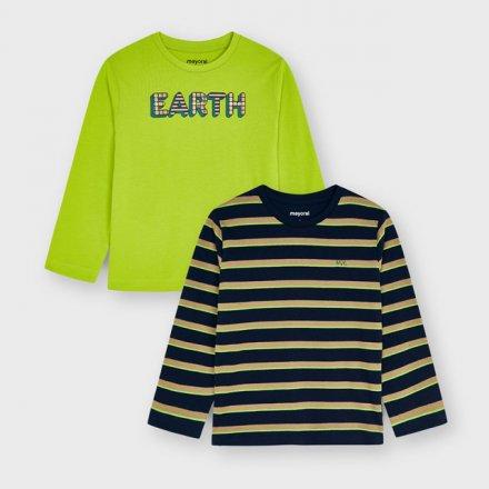 Set tričiek pre chlapcov s dlhým rukávom