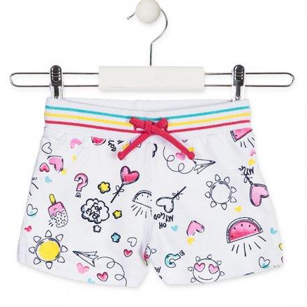 Dievčenské džersejové šortky