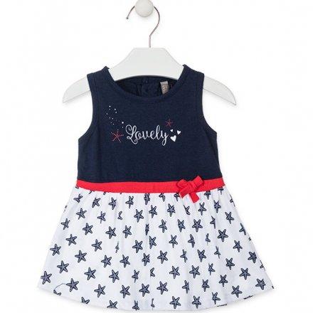 Dievčenské džersejové letné šaty