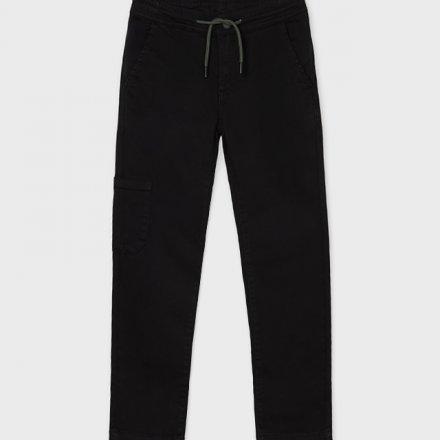 Chlapčenské jogger nohavice s vreckami